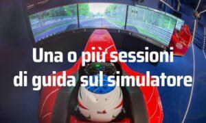 Simulazione di guida F1