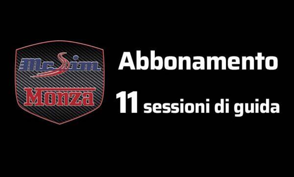Abbonamento 11 sessioni
